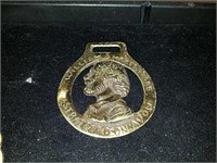 3 old Horse Brass medallions