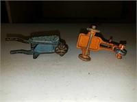 Antique cast iron Kilgore toys