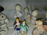 Porcelain figure collection