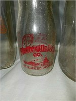 Old milk bottles and more