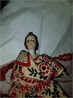 Antique Frozen Charlotte dolls
