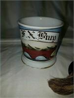 Antique shaving mug