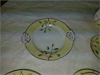 Antique porcelain child's tea service set