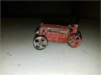 Antique cast iron original paint Fordson arcade