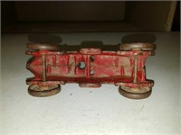 Antique cast iron Hubley race car
