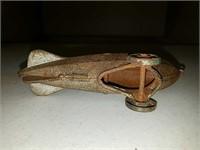 Antique cast iron Zeppelin toy