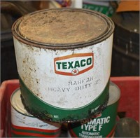 More Metal Texaco Can