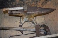 Large Anvil & Tools