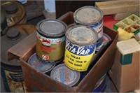 Boxes Old Texaco Paint