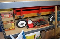 Old Toys & Wagon