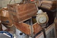 Wooden Adveresting boxes