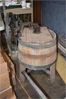 Wooden Primitive Washing Machine