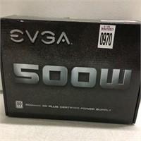 EVGA 500W 80 PLUS CERTIFIED POWER SUPPLY