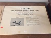 Leo Stans wildlife heritage collection