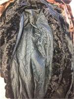 Assorted fur coats, assorted sizes.