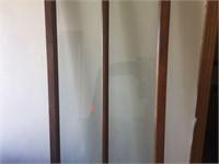Door frame & coat rack frame with hooks