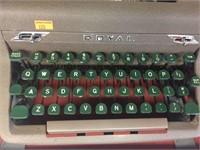 Royal typewriter & case
