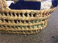 Dolls & bassinet basket