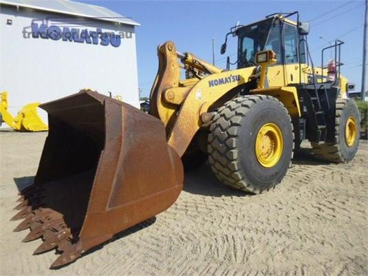 2012 Komatsu WA500-6 - Heavy Machinery for Sale