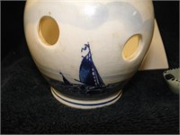 Delft Holland Candle holder and shoe