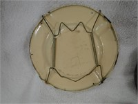 3 vintage ashtrays