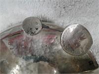 berlin tramp art ashtray 1950
