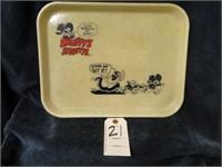 Snuffy's Shanty vintage tray