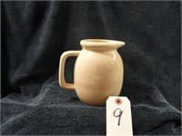 Old Cooking Witch pottery pitcher