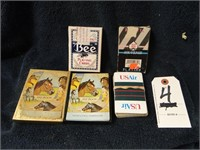 4 Sets Vintage playing cards