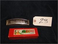 Echo harmonica old