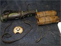Tasco binocular/Duck call/cub scout slide