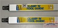 "2 Tru-Grip 24"" Clamp 'N Tool Guides."
