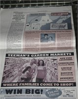 Storybrook Newspaper  Edition (2 pages Only)