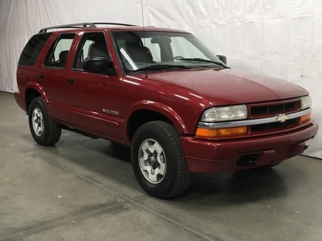 2003 chevrolet blazer ls 4x4 suv united country musick sons musick auction