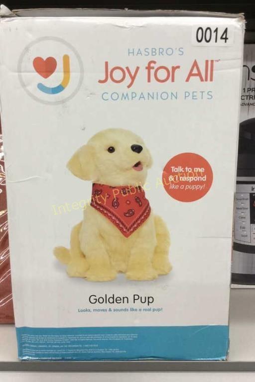 Hasbro Joy for all Companion Pet Golden Pup $99 R | HiBid