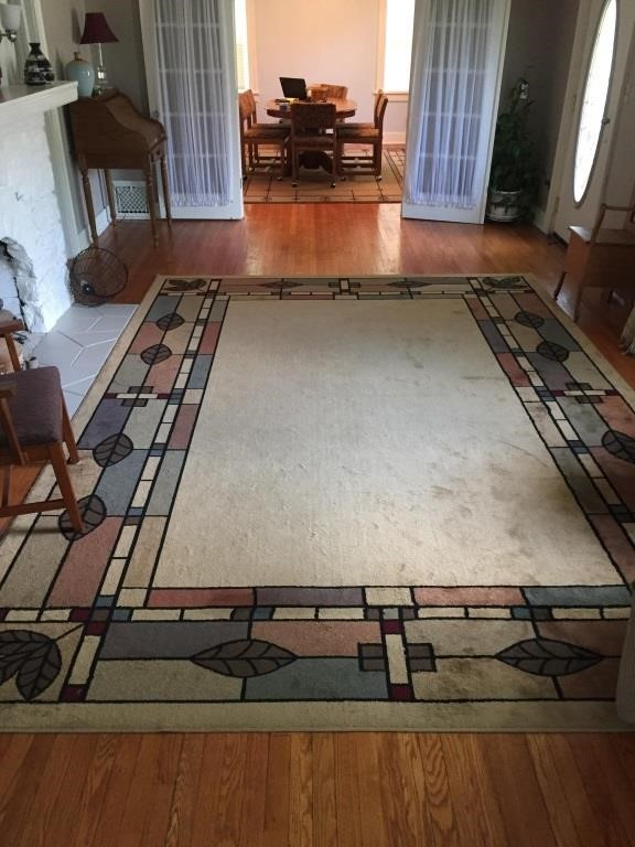 Beautiful Mission Style Area Rug 10x13