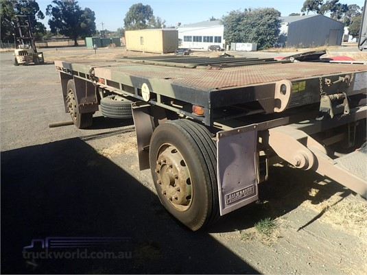 1989 Haulmark Flat Top Trailer - Truckworld.com.au - Trailers for Sale