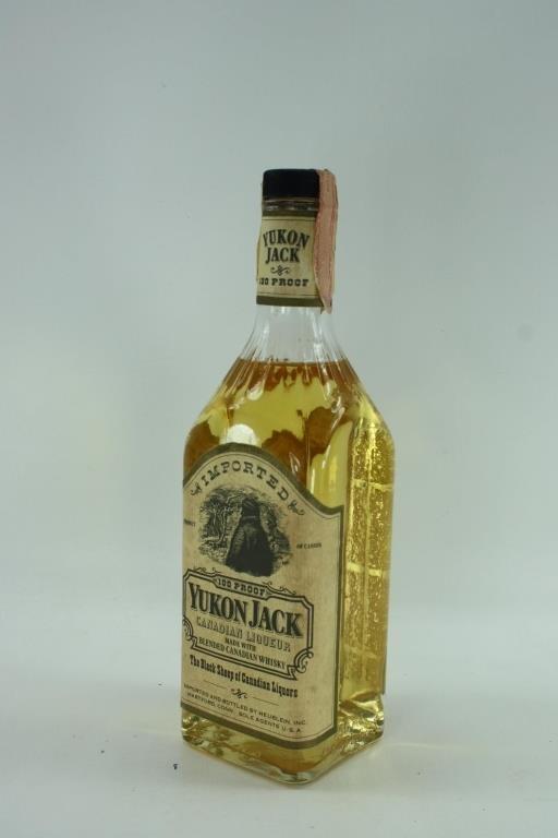 4 Bottles Yukon Jack 100 Proof 1 Lot 14 Auctions P C