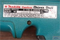 """Makita 9.6V 6093D 3/8""""  Drill W/ Charger & Battery"""