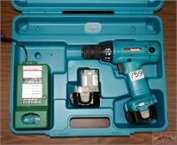 """Makita 6213 12V 3/8"""" Drill W/ Case"""