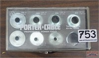 Porter Cable Router Template Guide Kit No. 4200.
