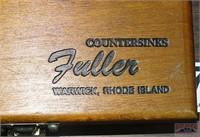 Fuller Countersink Bit Set in Wood Case.
