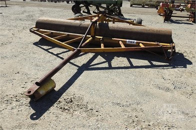 Custombuilt 12' Smooth Roller W/Hyd Transport Other Auction