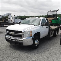 2007 CHEVY 3500HD FLATBED PICKUP