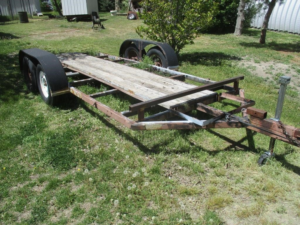 Double Axle Homemade Trailer | Prime