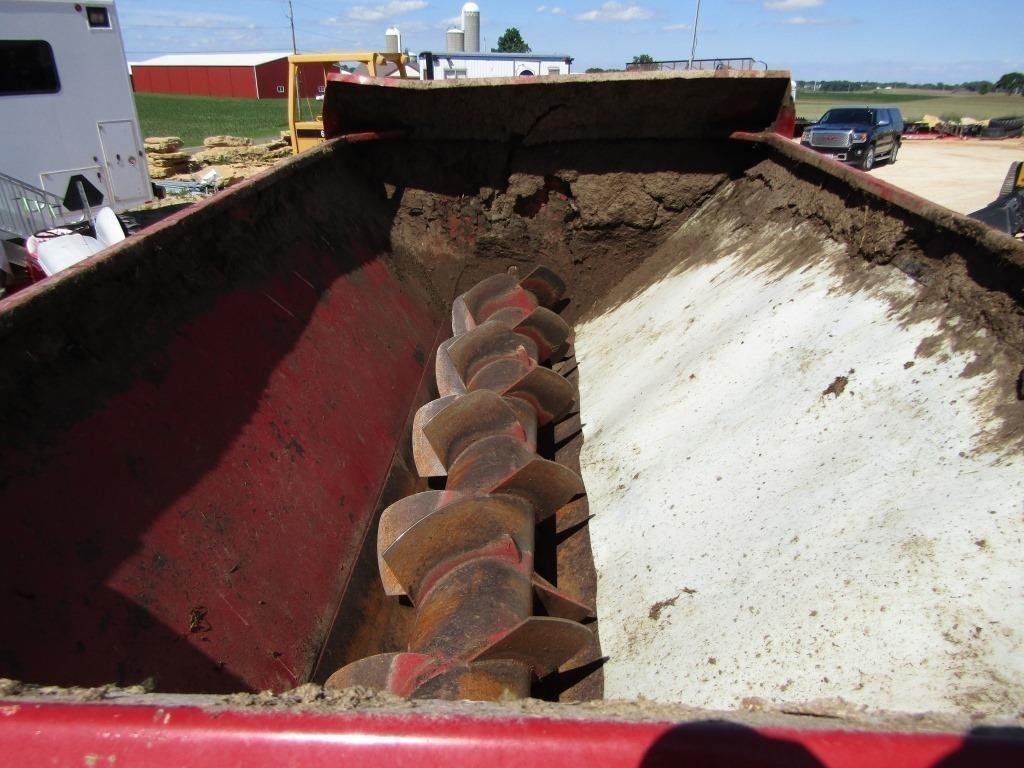H S 5234 Top Shot Slinger Manure Spreader Wisconsin Tractor
