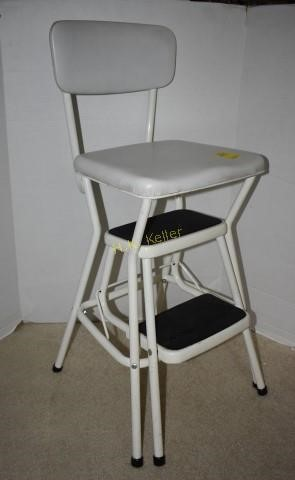 Vintage Cosco Step Stool Chair H K Keller