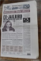 Storybrooke Daily Mirror Paper