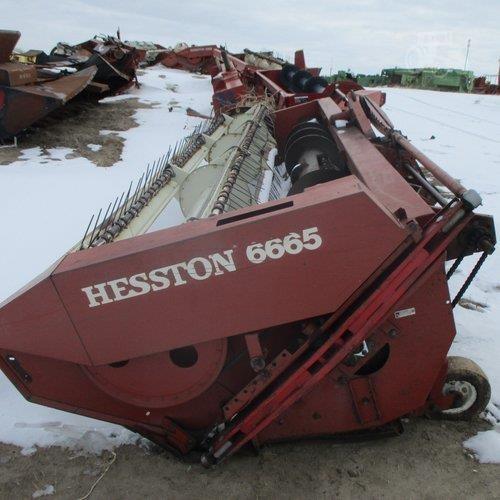 TractorHouse com | HESSTON 6665 Dismantled Machines
