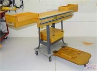 Nice Rolling Tool Stand w/ Storage Box.